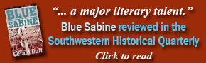 Blue Sabine Reviewed in the Southwestern Historical Quarterly